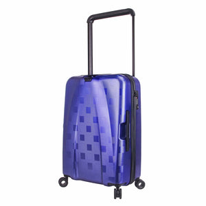 Hontus CASO QUATTRO 24 Inches Hardside Spinner Luggage Plaid Blue