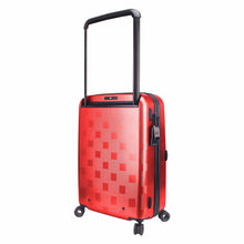 Load image into Gallery viewer, Hontus CASO QUATTRO 20 Inches Hardside Spinner Carry-On Luggage Plaid Red