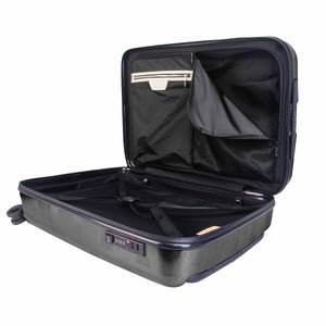 Hontus CASO QUATTRO 28 Inches Hardside Spinner Luggage Plaid Black