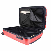 Load image into Gallery viewer, Hontus CASO QUATTRO 28 Inches Hardside Spinner Luggage Plaid Red