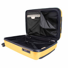 Load image into Gallery viewer, Hontus CASO QUATTRO 28 Inches Hardside Spinner Luggage Plaid Yellow