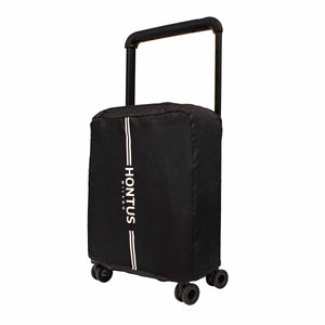 Hontus CASO TRE 20 Inches Hardside Spinner Carry-On Luggage Carbon Black