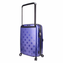 Load image into Gallery viewer, Hontus CASO QUATTRO 28 Inches Hardside Spinner Luggage Plaid Blue