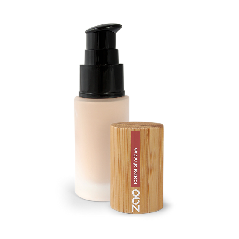Silk Foundation - Organic & Vegan Certified