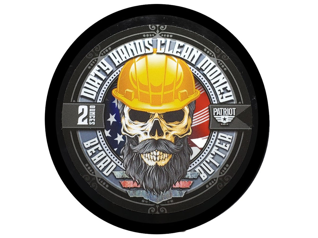 DIRTY HANDS CLEAN MONEY BEARD BUTTER 2OZ LIGHT HOLD/BEARD MOISTURIZER - Patriot Mens Company