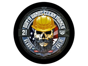 DIRTY HANDS CLEAN MONEY 2OZ BEARD BALM LEATHER - Patriot Mens Company