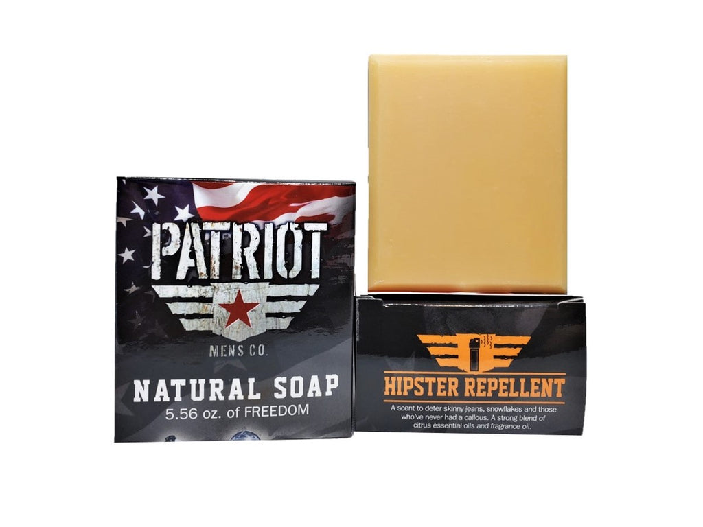 Hipster Repellent Natural Citrus Soap - Patriot Mens Company