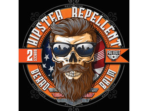 HIPSTER REPELLENT 2OZ BEARD BALM Citrus-Cedar-Sandalwood - Patriot Mens Company
