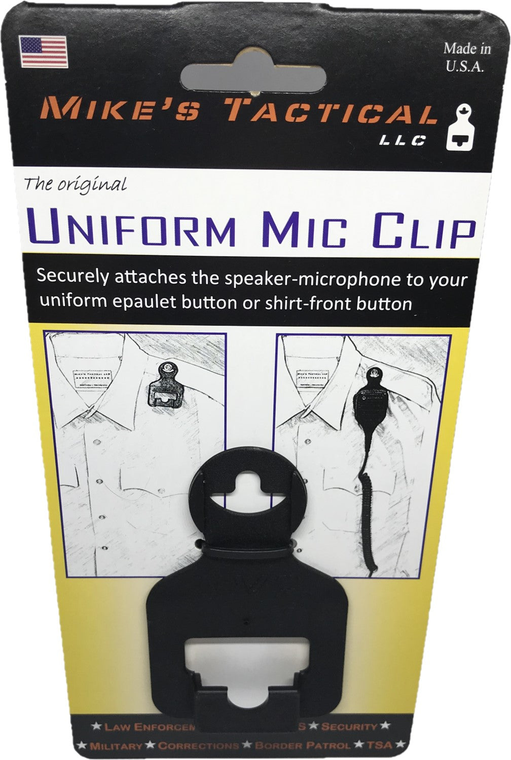 Tactical Mic Clip - Patriot Mens Company
