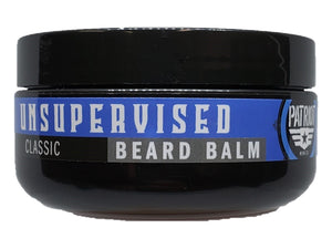UNSUPERVISED 2OZ BEARD BALM CLASSIC SCENT - Patriot Mens Company