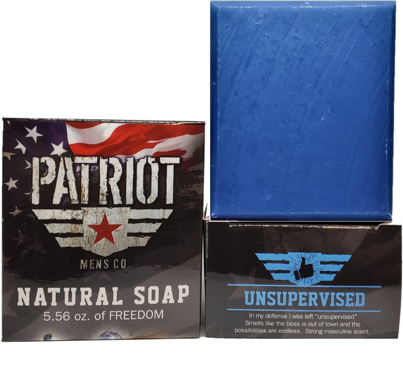 Unsupervised Natural Soap Masculine - Patriot Mens Company