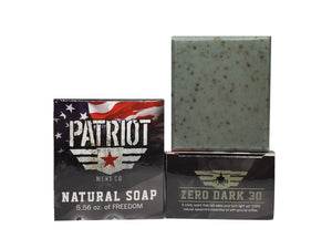 Zero Dark 30 Natural Spearmint Soap - Patriot Mens Company