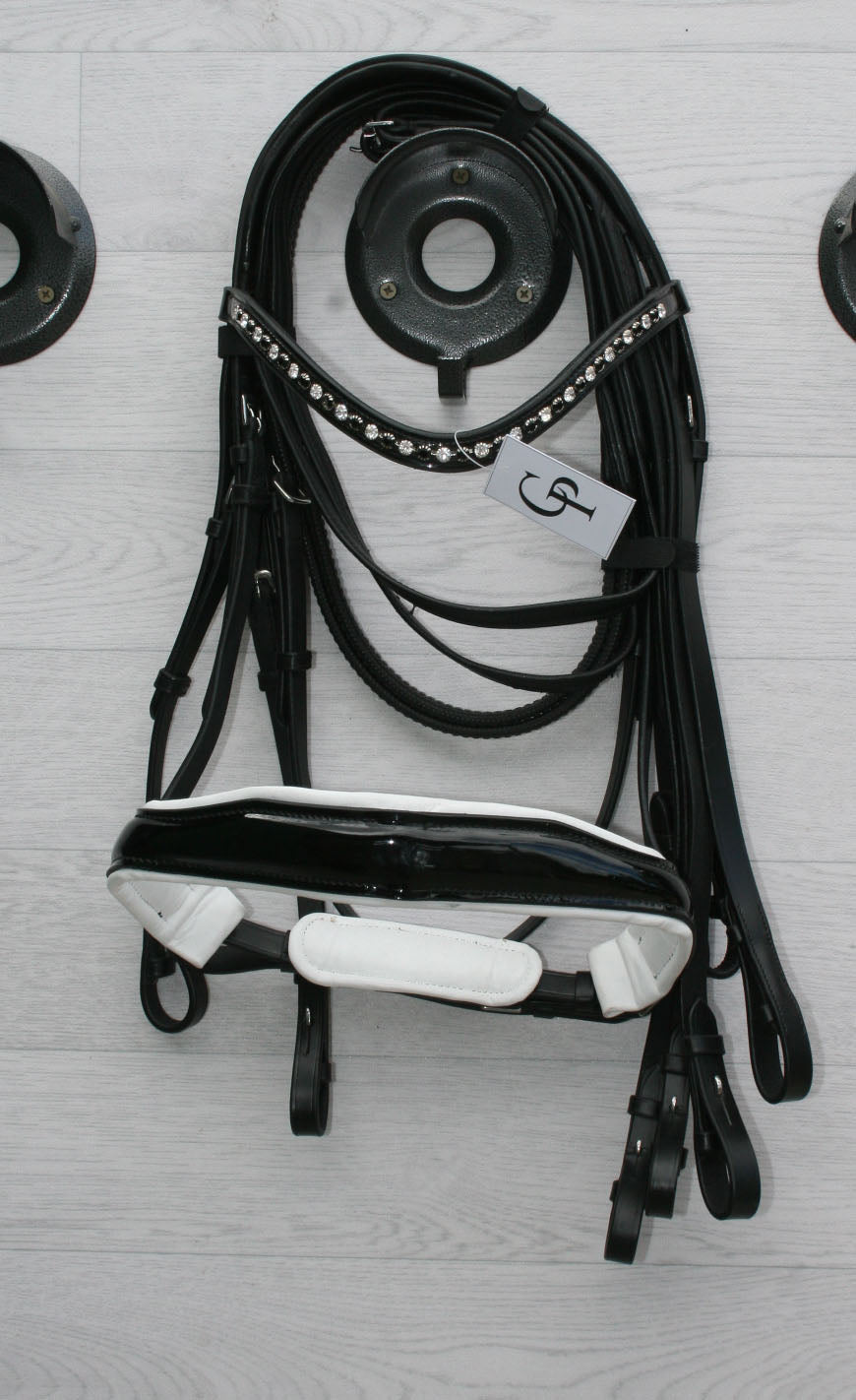 PATENT DOUBLE BRIDLES