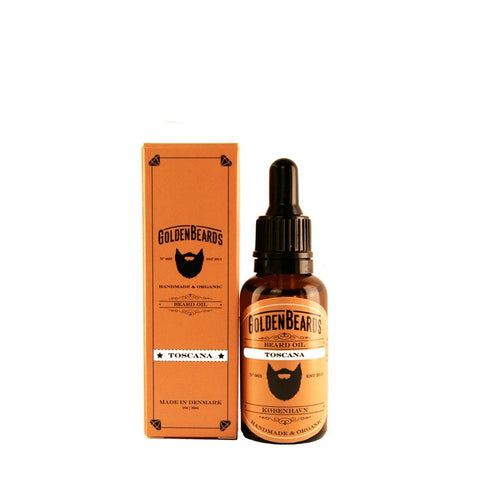 Aceite para Barba Golden Beards Toscana 30 ml.