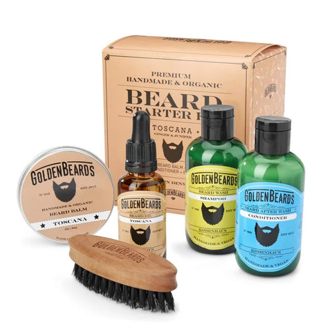 Starter Beard Kit Golden Beards - Toscana