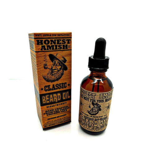 Aceite para barba Classic Honest Amish 60 ml