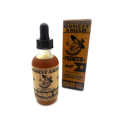 Aceite para barba Premium Honest Amish 60 ml