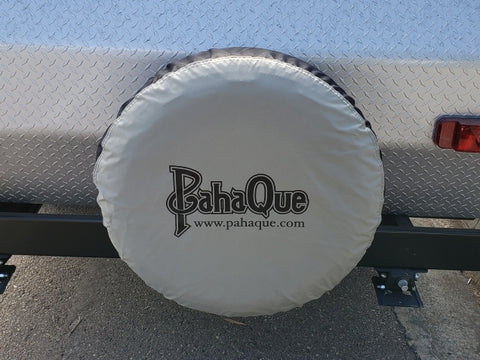 "Spare Tire Cover - 13"" Wheel. Fits 23"" to 25"" Tires."