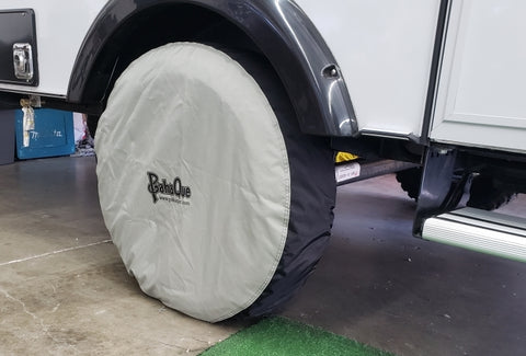"Tire Cover - 13"" Wheel. Fits 23"" to 25"" Tires."