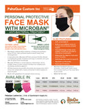 Personal Protective Face Mask with Microban® Treatment