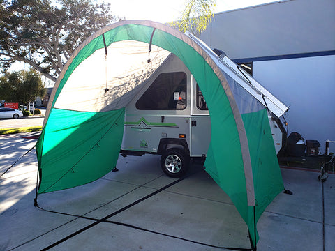 A-Frame Trailer Awning New for 2019!
