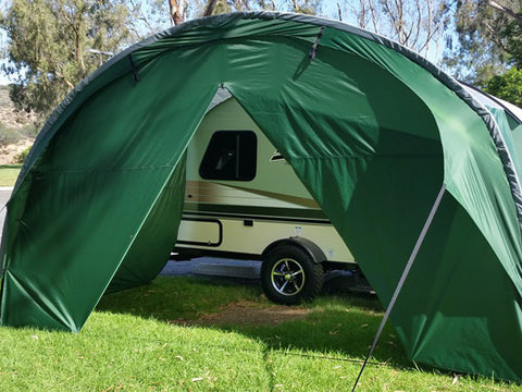 T@B 320 Awning Solid Front Wall Accessory