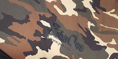 Main Fabric Pattern Option - Woodland Camo