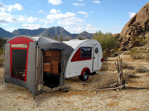 T@B Trailer Clamshell Tent