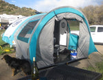Outlet 272 T@B Trailer Side Tent for Clamshell Trailer - silver/black trim