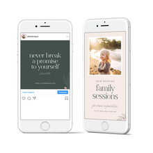 Load image into Gallery viewer, Social Media Templates - Ashton Malone Collection