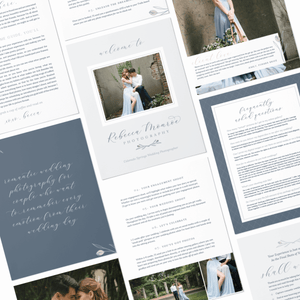 Photographer Welcome Packet - Rebecca Monroe