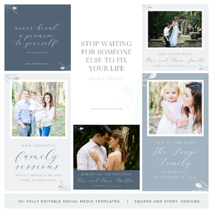 Social Media Templates - Rebecca Monroe Collection