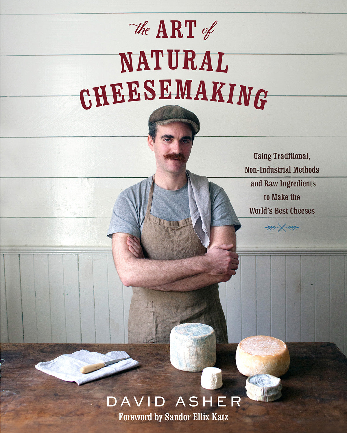 2-DAY NATURAL CHEESEMAKING CLASS WITH DAVID ASHER