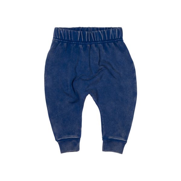 Indigo Blue Drop Crutch Pants