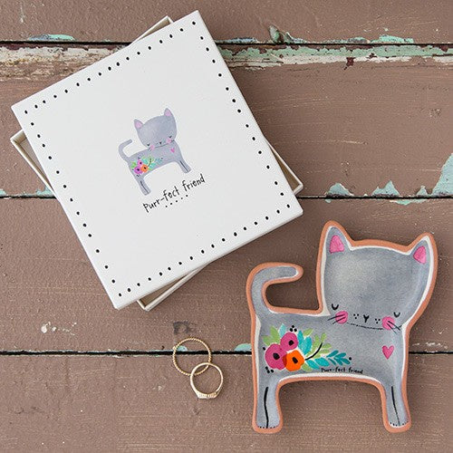 Purrr-fect Friend Trinket Dish