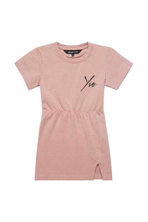 Dusky Pink Tee Dress