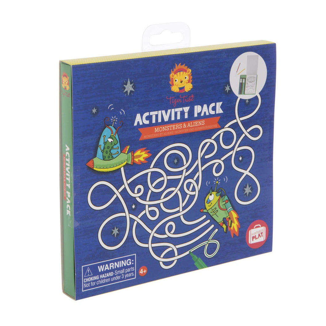 Monsters and Aliens Activity Pack