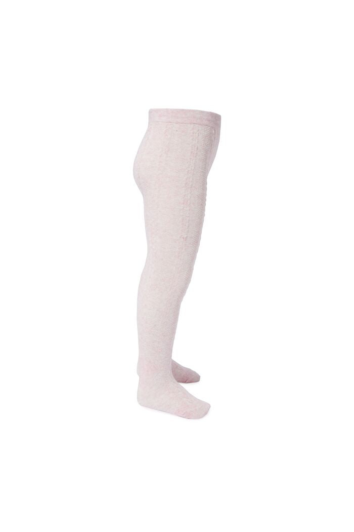 Jacquard Tights Baby Rose Blossom
