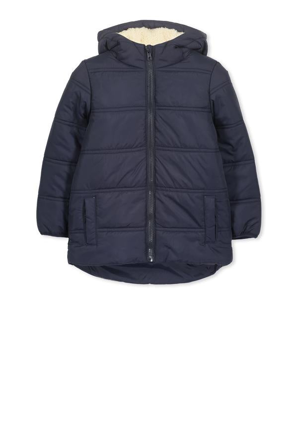 Navy Puffer Jacket Baby