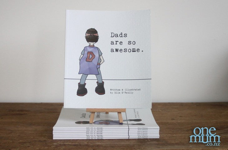 Dads Are So Awesome Book