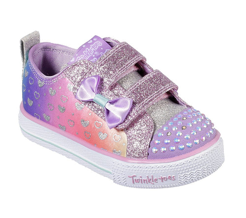 Shuffle Lites Sparkly Hearts skechers