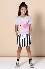 Mono Skirt Black Stripe