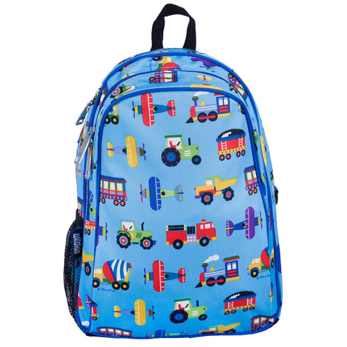 Trains, Planes and Trucks Backpack
