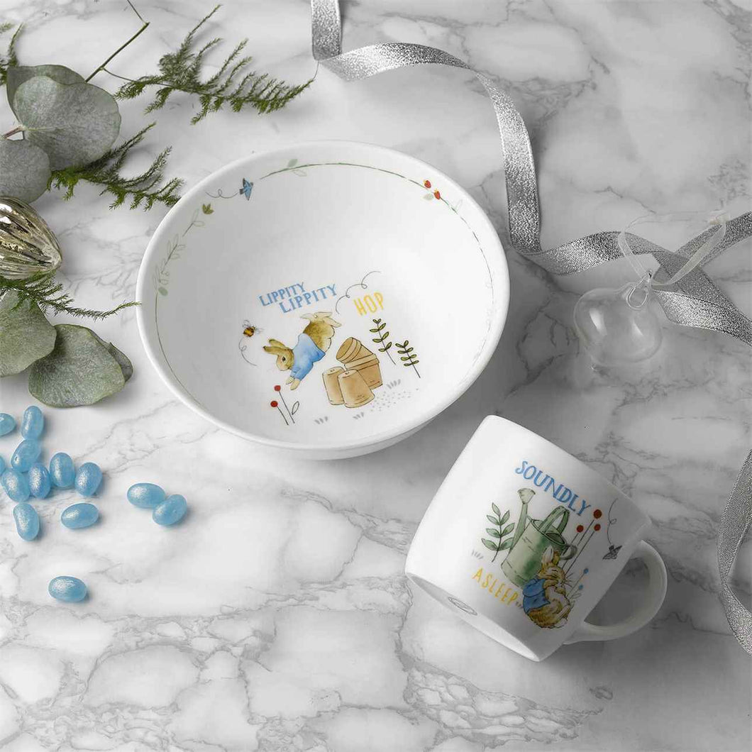 Wedgwood Peter Rabbit 2 Piece Nursery Set