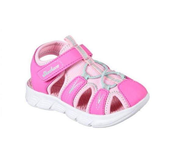 C Flex Aqua and Pink Sandal