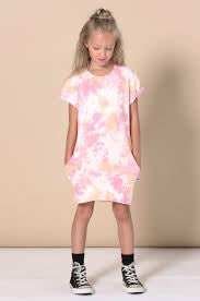 Wham Rolled up sleeve dress