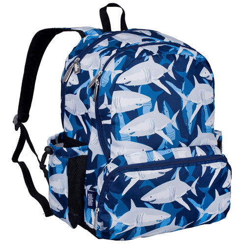 Sharks 17 Inch Backpack