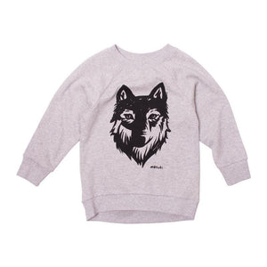 Wolf Placement Crew Neck Jumper