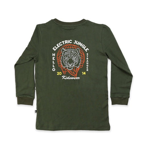Electric Jungle LS Tall Tee