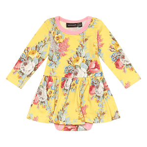 Floral - Chintz Baby Waisted Dress